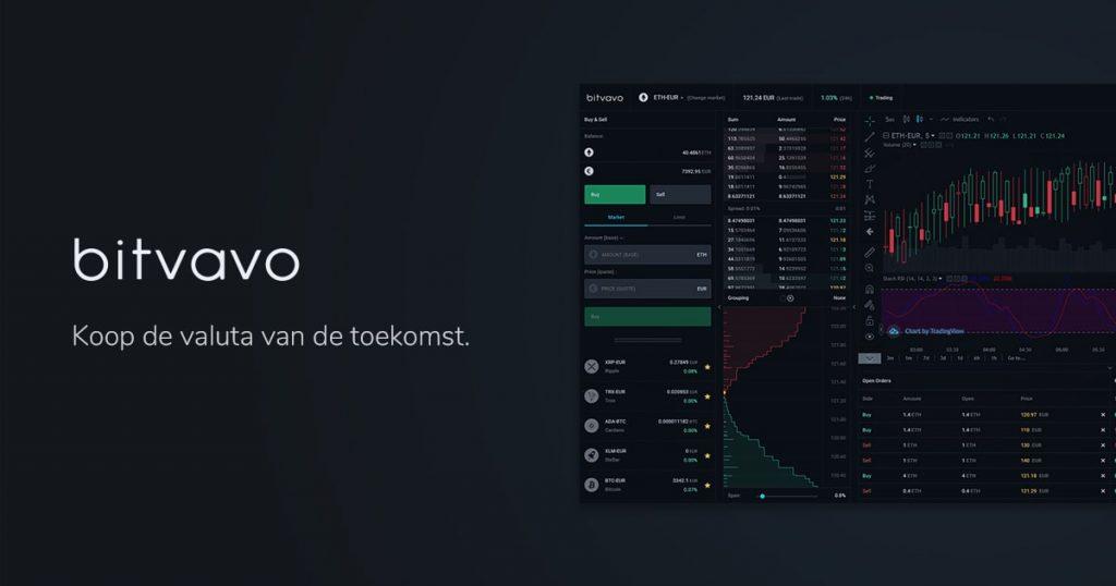 Bitvavo, Beste crypto exchange, crypto platform, crypto beurs, crypto broker